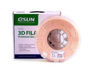 Filaments 3D PLA+ de qualité et résistant couleur peau