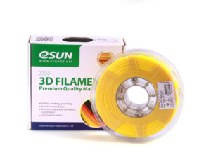 Filaments 3D PLA+ de qualité et résistant jaune