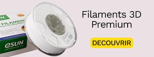 Filament PLA+ premium pour une qualité et une grande résistance