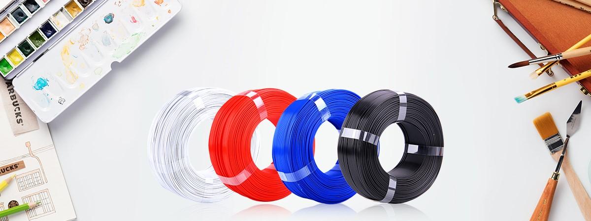Filaments 3D PLA et PLA+ de qualité et résistant