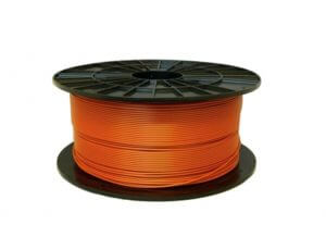 Filament impression 3D PLA orange cuivré