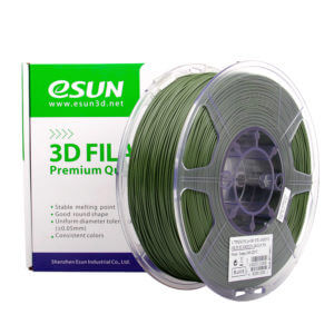 Filament PLA+ OLIVIE GREEN 13 pour une impression 3D