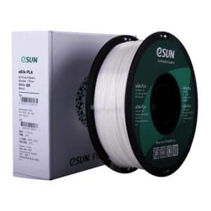 Filament blanc esun eSilk-PLA White 4
