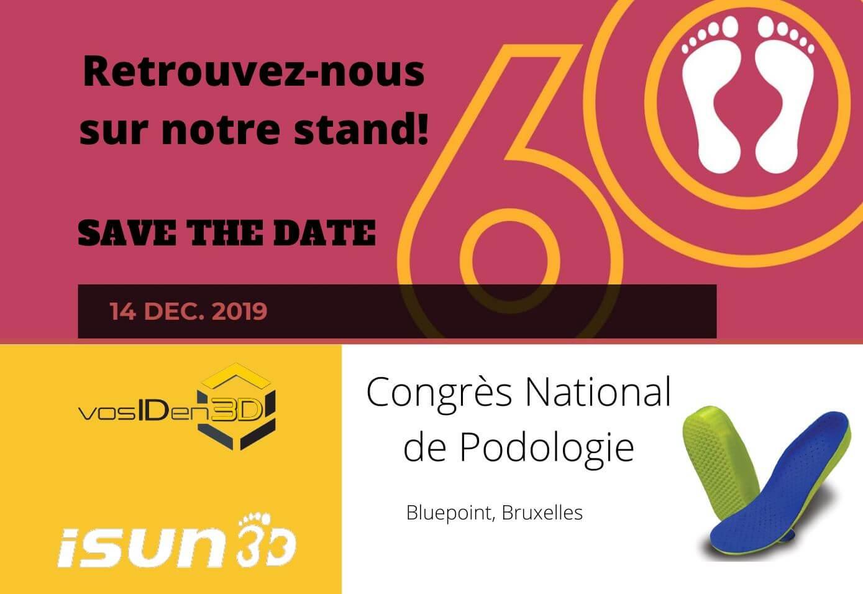 Semelles orthopédiques en impression 3D au Congrès National de Podologie