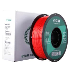 Filament impression 3D esun eSilk-PLA Red 4