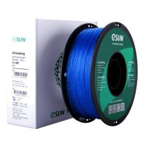 Filaments 3D Esun eTwinkling Blue 4